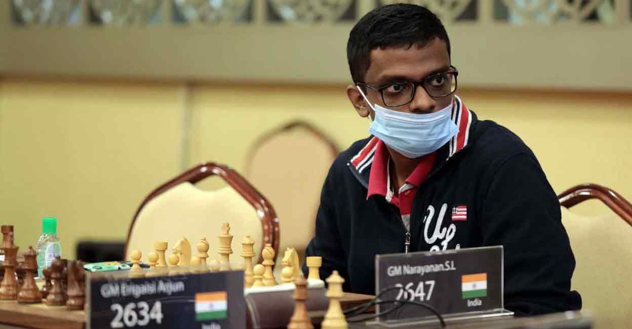 Керала ГМС Нараянан занял второе место в турнире по шахматам в Армении |  другие виды спорта
