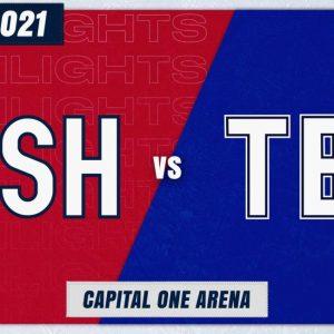 Основные моменты игры Capitals-Lightning (Живая тема)