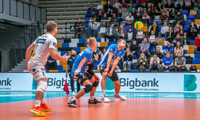 Тартуский Бигбанк выбыл из Лиги чемпионов после поражения от «Бенфики» |  Спортивный